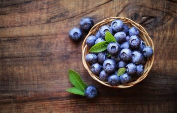ブルーベリーに含まれている栄養素の効果