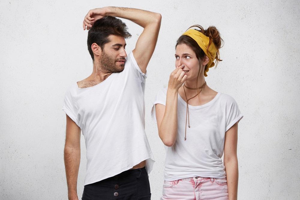 脇汗には2種類のタイプある